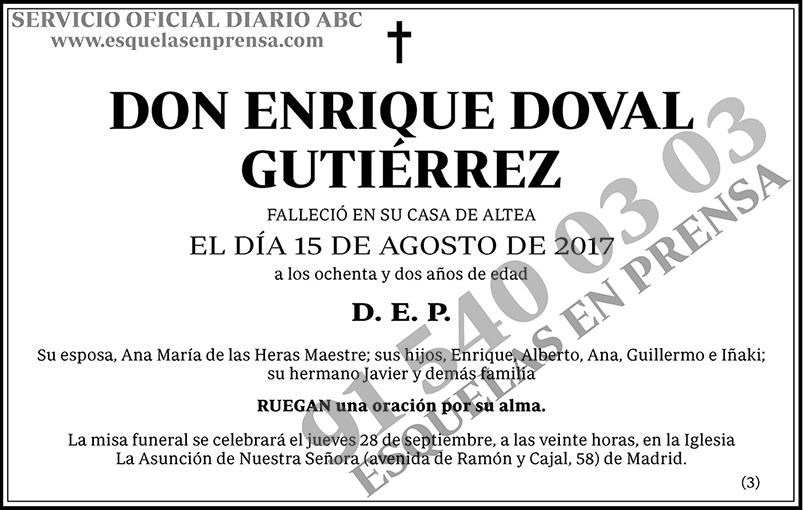 Enrique Doval Gutiérrez
